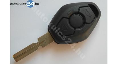 BMW kulcs 3 gombos osztott kulcsszár