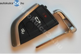 BMW kulcsház 4 gombos fekete gomb