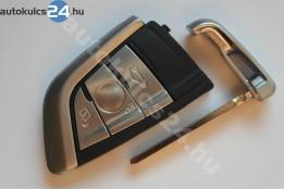 BMW kulcsház 3 gombos fém keret