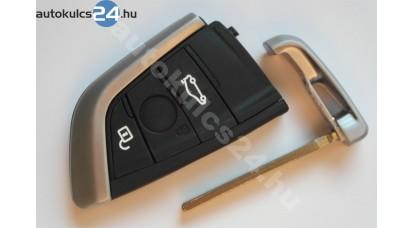 BMW kulcsház 3 gombos fekete gomb