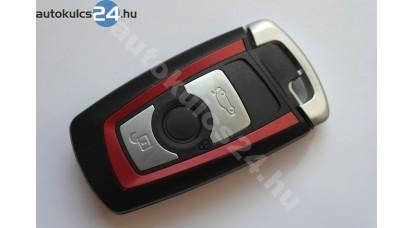 BMW kulcsház 5-ös széria piros