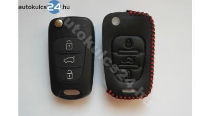 Hyundai/Kia 3 gombos bicskakulcs bőrtok