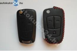 Opel 3 gombos bicskakulcs bőrtok