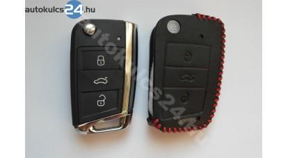 Volkswagen 2 gombos bicskakulcs bőrtok