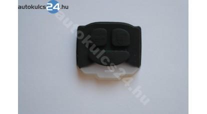 Daewoo 3 gombos kulcs gumigomb
