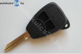 Chrysler 3 gombos kulcsház
