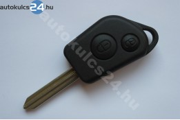 Citroen kulcs 2 gombos SX9