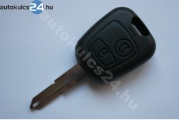 Citroen kulcs 2 gombos NE72 433Mhz ID46