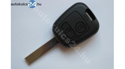 Citroen kulcsház 2 gombos HU83