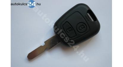 Peugeot kulcsház 2 gombos NE78