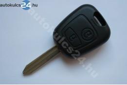 Citroen kulcs 2 gombos SX9 433Mhz ID46