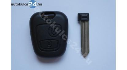 Citroen kulcsház 2 gombos SX9
