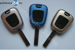 Citroen kulcsház 2 gombos HU83 fém
