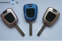 Citroen kulcsház 2 gombos VA2 fém