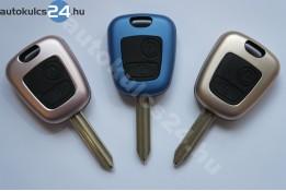 Citroen kulcsház 2 gombos SX9 fém