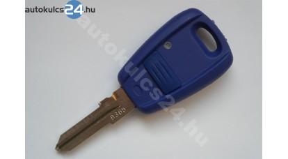 Fiat kulcsház 1 gombos kék