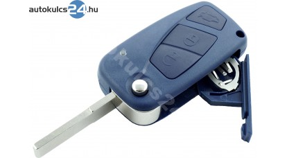 Fiat 3 gombos bicskakulcs kék oldalsó elem