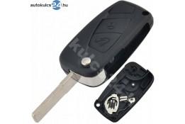 Fiat 2 gombos bicskakulcs fekete oldalsó elem