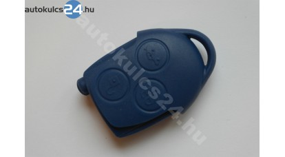 Ford kulcsház 3 gombos kék
