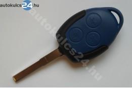 Ford 3 gombos kulcsház kék