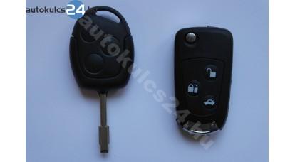 Ford 3 gombos bicskakulcs átalakító buzogány