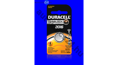 Duracell CR2016 lithium gombelem