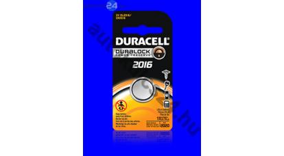 Duracell CR2016 lithium gombelem