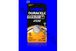 Duracell CR2032 lithium gombelem