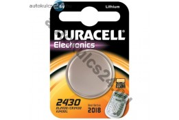 Duracell CR2430 lithium gombelem