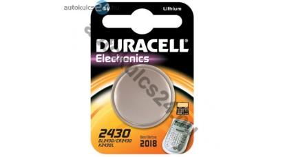 Duracell CR2430 lithium gombelem