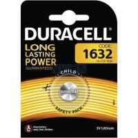 Duracell CR1632 lithium gombelem