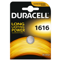 Duracell CR1616 lithium gombelem