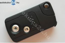 Honda 2 gombos kulcsház biztonsági kulccsal