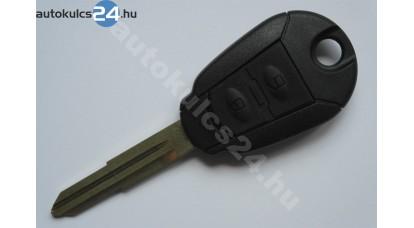 Hyundai 2 gombos kulcsház
