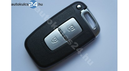 Hyundai 2 gombos kulcsház kivehető penge