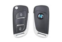 KeyDiy Citroen/Peugeot B11-2 távirányító autókulcs