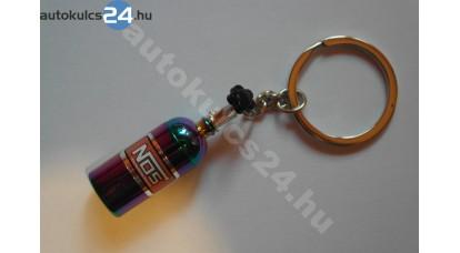 Neon NOS palack kulcstartó
