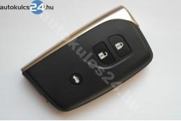 Lexus távirányítóház 3 gombos kihúzható kulcsszár