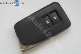Lexus  2 gombos kulcsház kihúzható kulcsszár