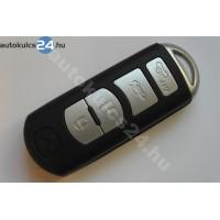 Mazda 4 gombos bedugós kulcsház