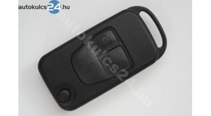 Mercedes 3 gombos bicskakulcs osztott kulcsszár