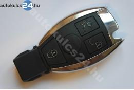 Mercedes 3 gombos kulcsház