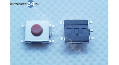 Mikrokapcsoló 6.3mmx6.5mmx2.3mm