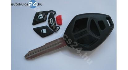 Mitsubishi 4 gombos kulcs rombusz