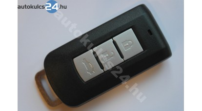 Mitsubishi 3 gombos bedugos kulcsház