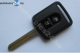 Nissan 2 gombos kulcsház