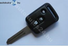 Nissan 3 gombos kulcsház