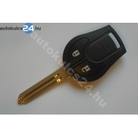 Nissan 2 gombos kulcs 433Mhz