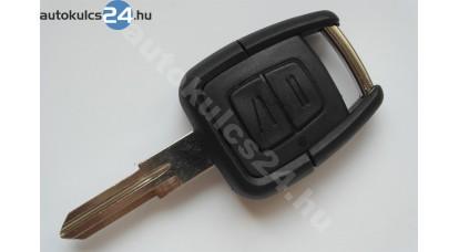 Opel kétgombos kulcs(balos)