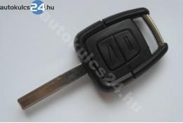 Opel kétgombos kulcs HU43